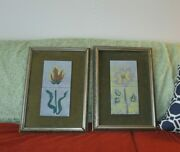 2 Harris G Strong Mcm Floral Art Tiles Bronx Ny Labels 2a 2b Need Tlc
