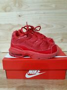 Toddler Little Air Max Plus Size 8c Red Good Condition