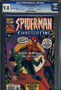 1998 Cgc 9.8 Spider-man Chapter One 1 Au Gold Foil Variant Another Universe