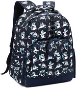 Choco Mocha 15-17 Inch Boys School Backpack With Matching Coin Purse