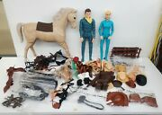 Vintage Johnny West Action Figures And Accessories
