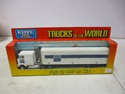 Ertl Trucks Of The World Ford Tractors Equipment Ford Cl-9000 With Van 1/64 Lot