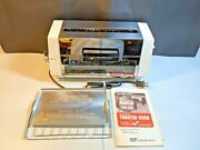 Vintage Proctor - Silex Toaster Oven Model 0404w Type 4 1970 With Original Box