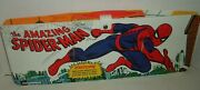 Ideal Vintage Amazing Spiderman Fold Out Playset Rare Unused Sealed Content 1973