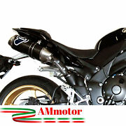Full Exhaust System Termignoni Yamaha Yzf R1 2010 Motorcycle Muffler Oval Carbon