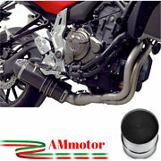 Full Exhaust System Termignoni Yamaha Xsr 700 2017 17 Motorcycle Carbon Approved