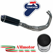 Full Exhaust System Termignoni Yamaha Xsr 900 2018 18 Motorcycle Carbon Approved