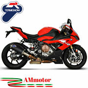 Exhaust Termignoni Bmw S 1000 Rr 2019 Motorcycle Conical Titanium Black Approved
