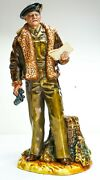 Rare Royal Doulton Figure 'field Marshal Montgomery' Hn3405 Made In England