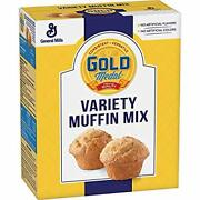 Gold Medal Variety Muffin Mix 5 Lb Box Pack Of 6