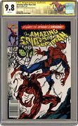 Amazing Spider-man 361a 1st Printing Cgc 9.8 Ss 1992 3692717005 1st Carnage