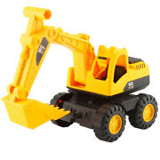 Engineer Construction Truck Excavator Digger Vehicle Car Toy For Kids Gift