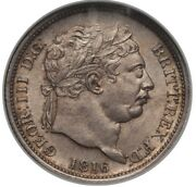 England George Iii 1816 1 Shilling Silver Coin Uncirculated Certified Ngc Ms65