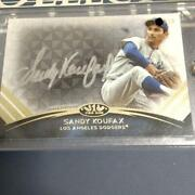Mlb Card 2018 Sandy Koufax Topps Tier One Talent Autographs Silver Ink Limited