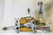 Vintage 1950and039s Tom Corbett Space Cadet Marx Atomic Rifle Working