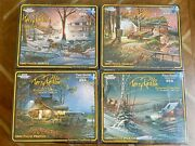 White Mountain Puzzles - Terry Redlin Exclusive Collection - 4 Pack - 1000 Piece