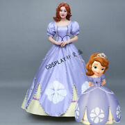 Anime Sofia The First Princess Sophia Violet Evening Adult Dress For Women And2021