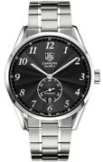 Tag Heuer Carrera Heritage Calibre 6 Black Dial Steel Menand039s Watch Was2110.ba0732