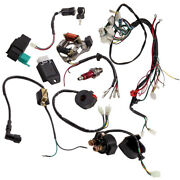 Cdi Harness Stator Assembly Wiring Kit For Atv Electric Quad 50 70 90 110 125cc