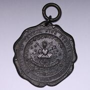 1905 St Rita Of Cascia Hs Chicago Elocution 2nd Prize Sterling Silver Medal E817