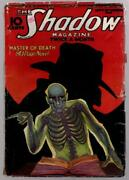 The Shadow Sep 15 1933 Skeleton Cover By Rozen Pulp