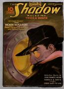 The Shadow Jul 15 1936 Jerome Rozen Cover Art - Canadian Edition Pulp