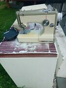 Sears Kenmore Vintage Sewing Machine W/ Foot Pedal Model 158-10400 Tested
