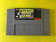 Super Nintendo Snes Game Marvel Super Heroes War Of The Gems Free Shipping