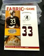 2007 Leaf Certified Fabric Of The Game Sammy Baugh Jersey 29/33 Mt Redskins
