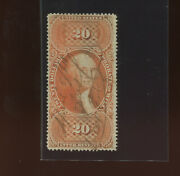 R99c Probate Of Will Rare Perforated Revenue Stamp Stock R99-1 Bx 441