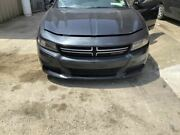 Front Bumper With Recessed Hood Line In Upper Cover Fits 15-18 Charger 957707
