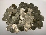 Part Date Buffalo Nickels - All Dates 1924 Or Before - 200 Pieces