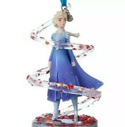Disney 2019 Elsa Singing Frozen 2 Sketchbook Christmas Ornament New With Tag