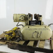 Cm Chisholm-moore 5815 1-1/2 Ton Electric Hoist Wire Rope 20and039 Lift W/pwr Trolley