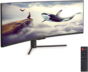 Deco Gear 2-pack 43 Curved Ultrawide E-led Gaming Monitor 3210 Aspect Ratio