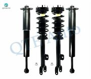 Front-rear Quick Complete Strut-shock For 2011-2016 Dodge Charger Rwd