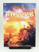 Sight And Sound Theatres In The Beginning Dvd, 2007 Bible Story New/sealed