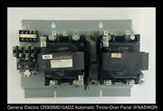 General Electric Cr309m010adz Automatic Throw-over Panel 100 Amp