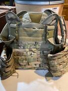 Rothco Multicam Tactical Molle Vest And Plates