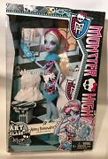 Nrfb Abbey Bominable Monster High Art Class 2013 New In Box