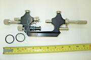 Vintage Large Size Watchmakers Lathe/turns Ring Cord Driven Quailty Tool