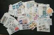Usa Usps Mint Nh Plate Blocks Large Lot Postage Stamps Face Value 291.37