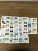 First Day Cover 1991 Hometown Stamps 21 Types Set Stamps 78125