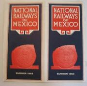 National Railways Of Mexico Summer 1963