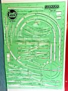 1001 Lgb Track Planning Template With Planning Paper G Scale