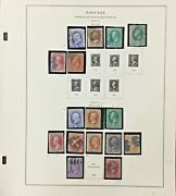 Us National Bank Note Company Stamps From 1870-1971 Scott Cv 6478.00 Ab