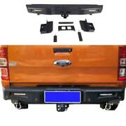 For Ford Ranger 2015-2021 Combat Black Rear Tailgate Trunk Lid Cover Guard Plate