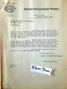 1920 Dallas Texas Oliver Chilled Plow Works Billhead And Letterhead Plow Trademark