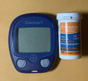 Contour Ts Diabetic Glucose Blood Meter Tested Guaranteed