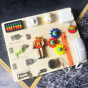 Baby Busy Board Locks And Latches Bolt Gear Phone Skills Training Toy Travel
